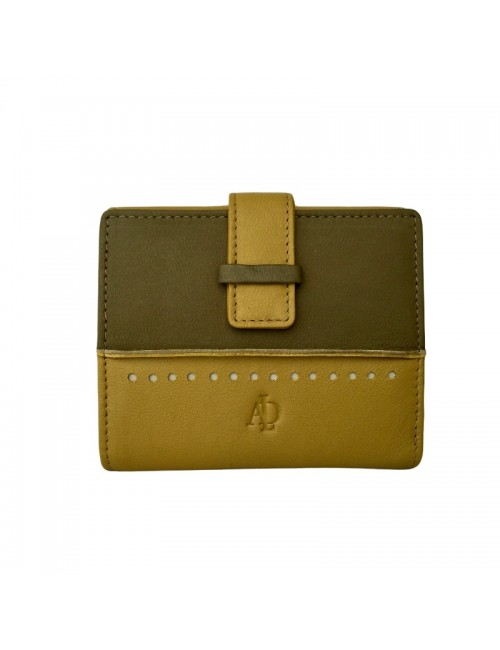 Woman's wallet with RFID protection